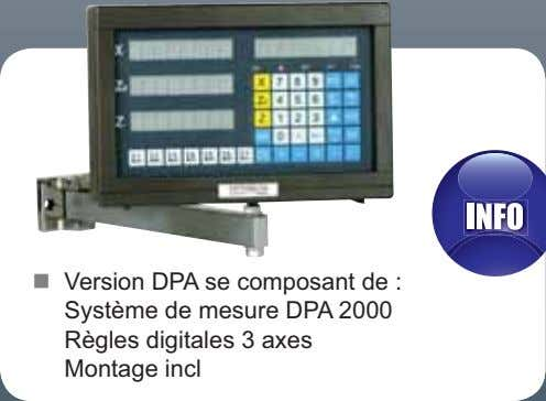 Version DPA se composant de : Montage incl