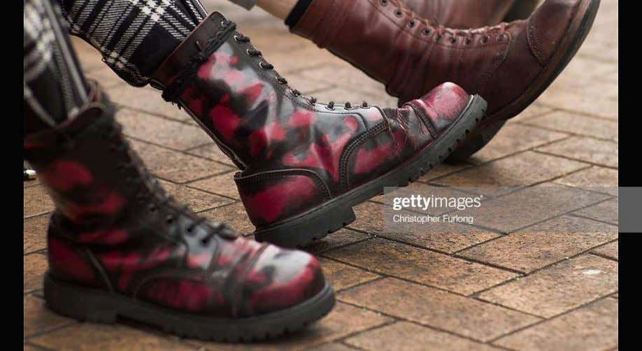 popular among some leading designers such as Dr. Martens. In 2019, a person may buy an