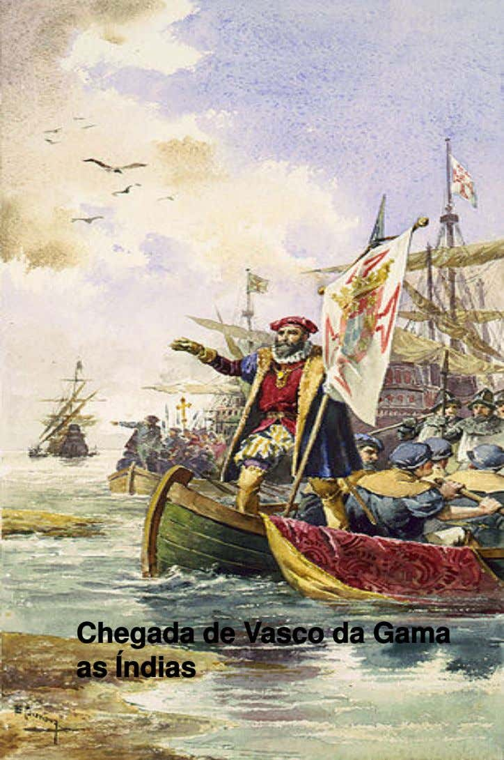 Chegada de Vasco da Gama as Índias