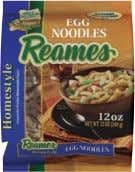 99 Reames EGG OR DUMPLING NOODLES 12 Oz. Pkg. 2/$ 4 Freshlike Our Family MIXED FRUIT