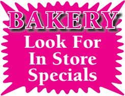 BAKER Y Look For In Store Specials