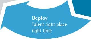 talent powered by a culture that enables high performance Figure 11. An integrated approach to talent