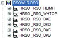 may be displayed using Utilities > Ship Reference Grids To show the RSO shape, drag from