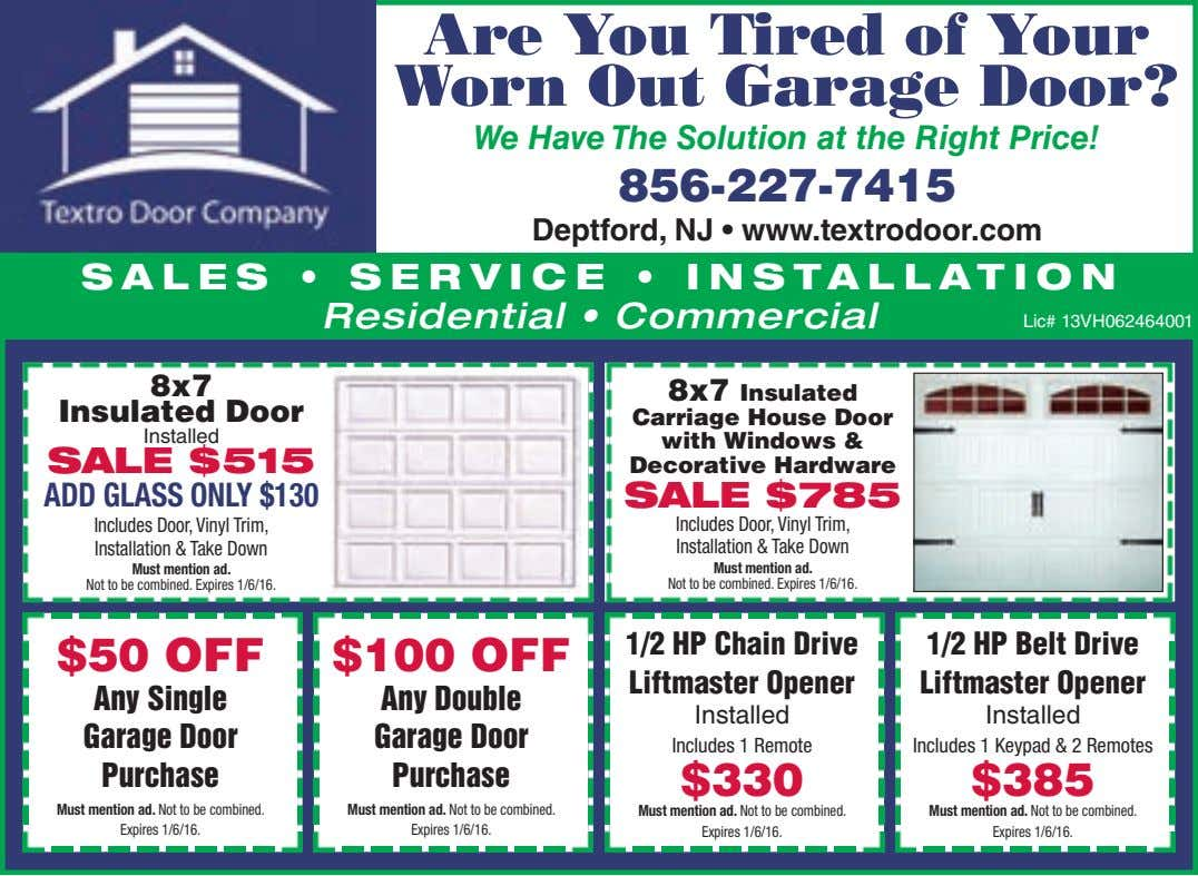 Are You Tired of Your Worn Out Garage Door? We Have The Solution at the