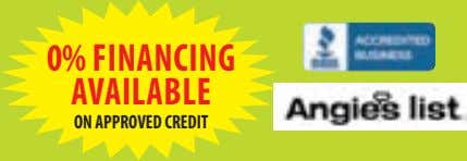 0% FINANCING AVAILABLE ON APPROVED CREDIT