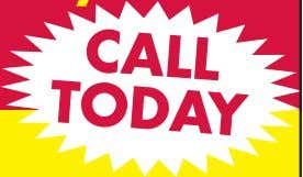 (856) 228-9852 Now is the time to check out your system. C A L L TODAY