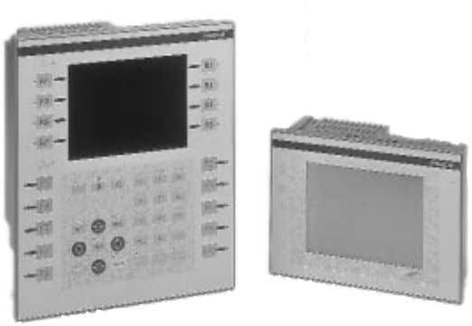 MAGELiS™ XBT-F Operator Terminals MAGELiS XBT-F features also include: • application and firmware storage on PCMCIA