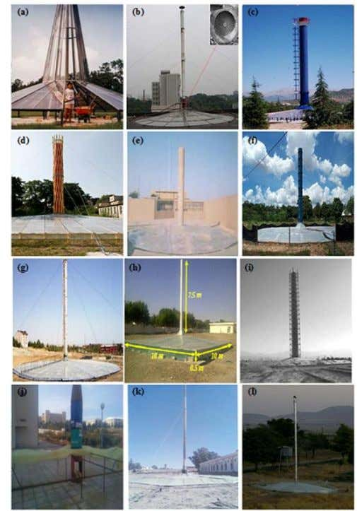 ISSN: 2249 – 8958, Volume-2, Issue-3, February 2013 Fig.18.solar chimney experimental prototypes. Table .IV.