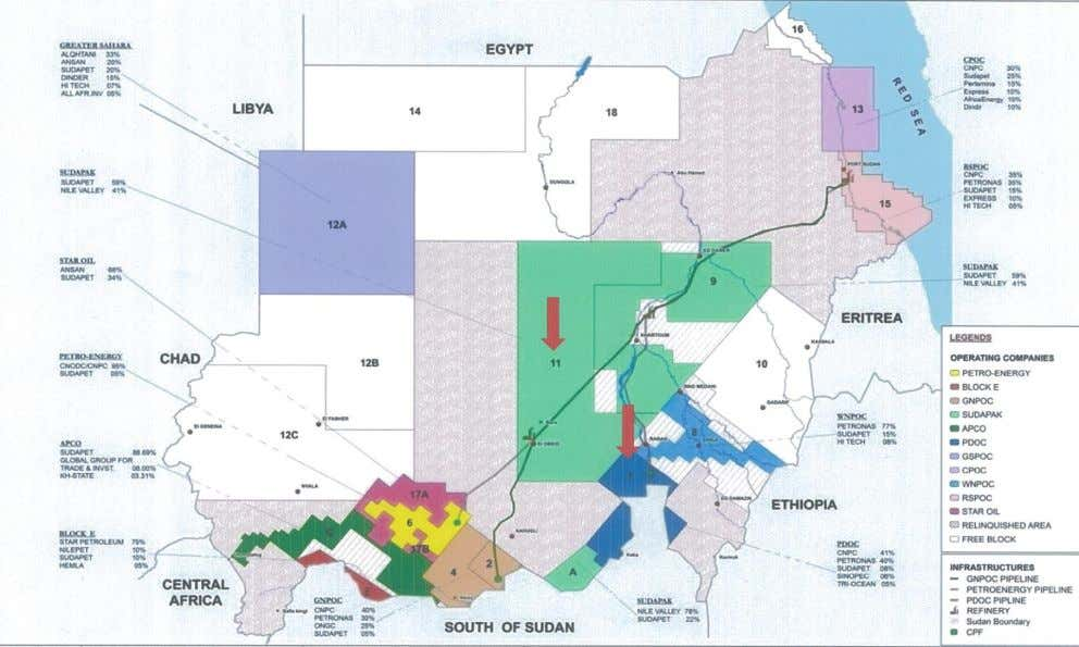 Sudan – Oil Blocks 13