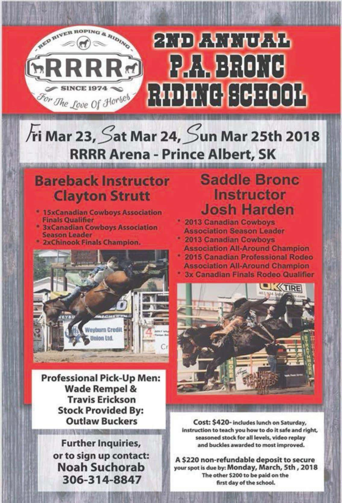 CCA RODEO NEWS MARCH 2018 - PAGE 18