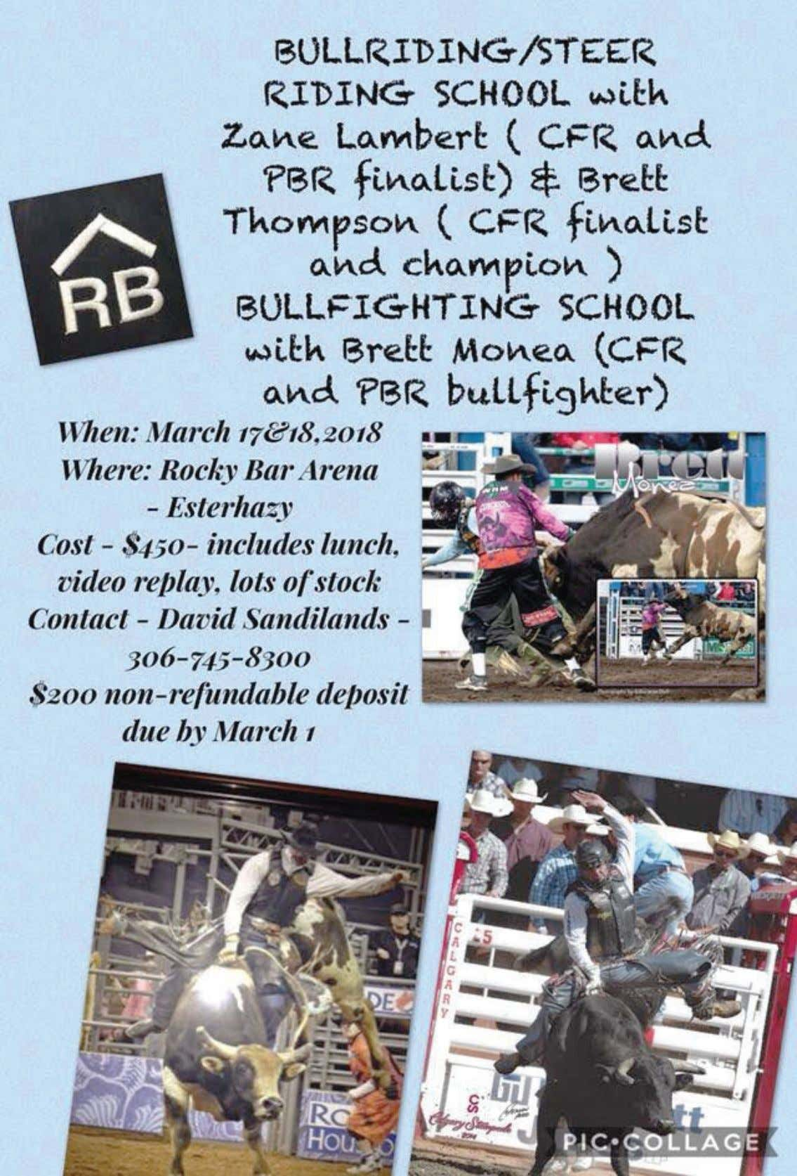 CCA RODEO NEWS MARCH 2018 - PAGE 8