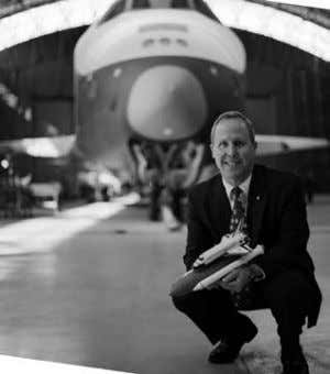 aboard four space shuttle flights. Jones will sign copies of his book after the lecture. In