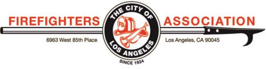 O n November 28, 2012, the Los Angeles City Firefighter's Association will vote on this