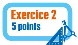 Exercice 2 5 points
