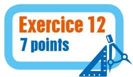Exercice 12 7 points