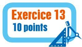 Exercice 13 10 points