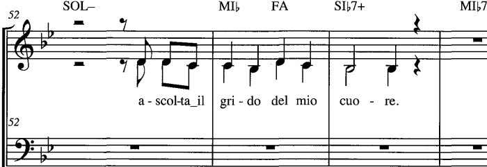 a - scol-ta_il gri - do del mio cuo - re. 52