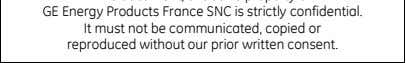 France SNC is strictly confidential. It must not be communicated, copied or reproduced without our prior