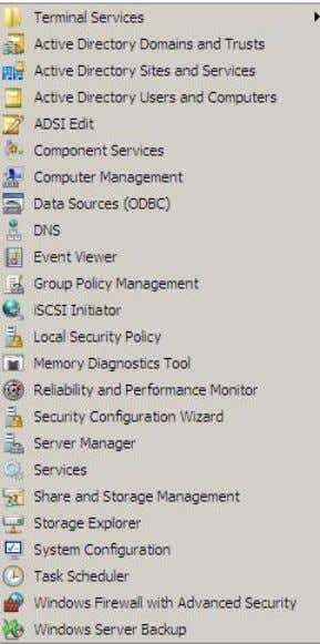 ● ADSI Edit ● DNS ● Group Policy Management Summary Setting up a Domain Controller in