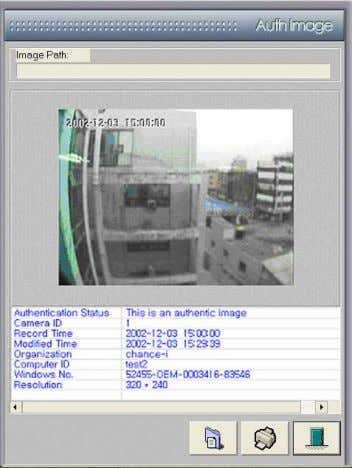 www. DiViS DVR.com 8-3. Auth Tool This program is used to decipher images saved by the