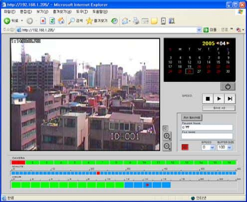voice communication, relay out, etc. 3.3 Client – Search Choose desired date, camera, and time to