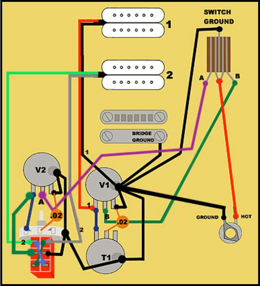 the 3-way switch. Keep in mind, a push pot is just a potentiometer with a mini