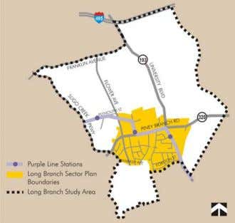 Zone and a new residence in the R-40 Zone. Enterprise Zone Plan and Study Area Long