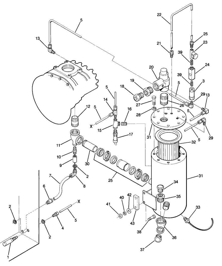 Section 1 ILLUSTRATIONS AND PARTS LIST 1.8 COMPRESSOR DISCHARGE SYSTEM 20