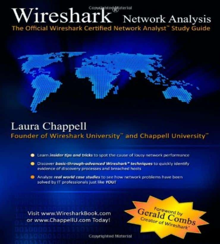 Generic Troubleshooting Advice Wireshark  Wireshark does a LOT  Enough for someone to write an