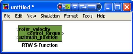 Step Five - Use S-Function without source code to Create ESL 4. Save this model as