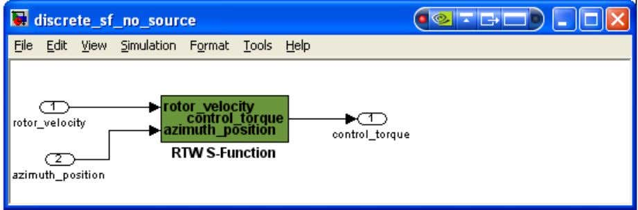 Five - Use S-Function without source code to Create ESL 71 Figure 36 Discrete S-Fucntion -
