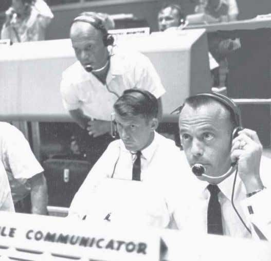 call 321-449-4444 or visit www.KennedySpaceCenter.com . THREE ASTRONAUTS (from right), Alan Shepard, Wally Schirra