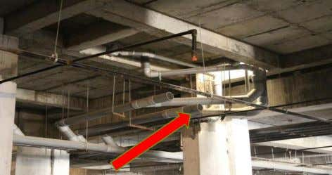 SERVICES DRAINAGE • DRAINAGE IS CONNECTED THROUGH PVC PIPES IN DUCT TO SEWAGE PIPE. •