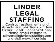 ben- efit package E-mail resume to fmc420@aol.com LEGAL SECRETARY Position of the Week Part-Time Legal