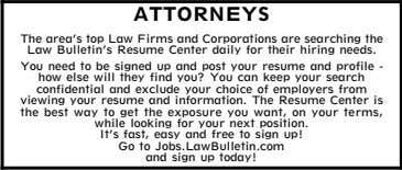 EMPLOYMENT WEEKLY Attorney Positions Available 1000 1010 Jobs Jobs Jobs on Follow us to quickly receive