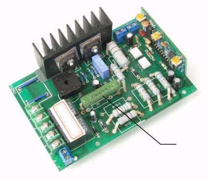 6. Check the switches and potentiometer for signs of physical failure. Test them as described below.