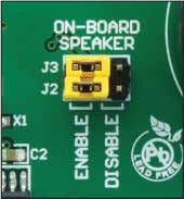 speaker to be connected through the CN4 connector. Figure 1-4: Built-in speaker is on Figure 1-5: