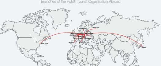 Branches of the Polish Tourist Organisation Abroad Moscow Stockholm Amsterdam Berlin Warsaw London Kiev Brussels