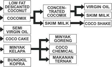 LOW FAT DESICANTED VIRGIN OIL CONCEN- COCONUT TRATED COCOMIX SKIM MILK COCOMIX SKIM MILK COCO