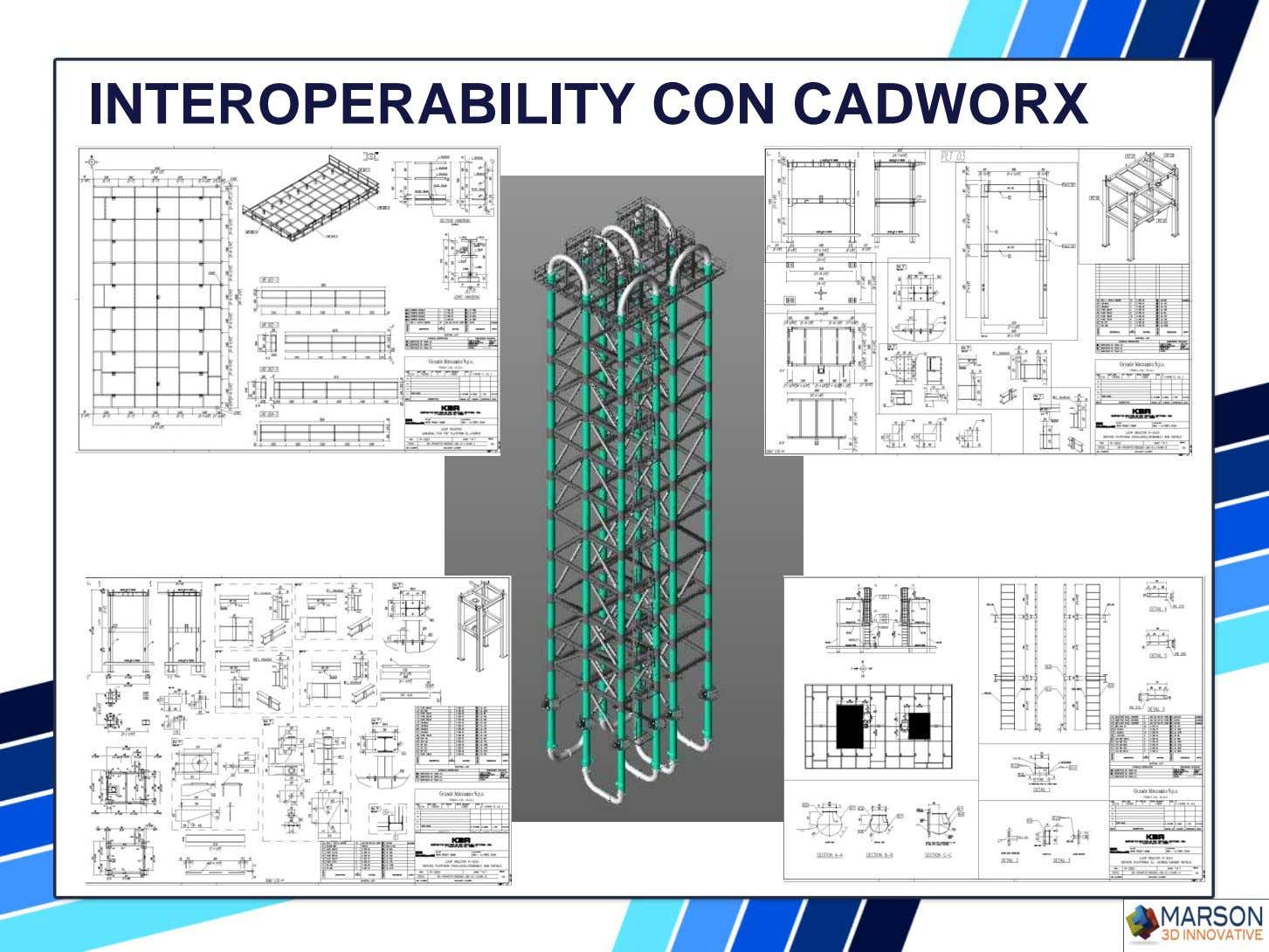 INTEROPERABILITY CON CADWORX