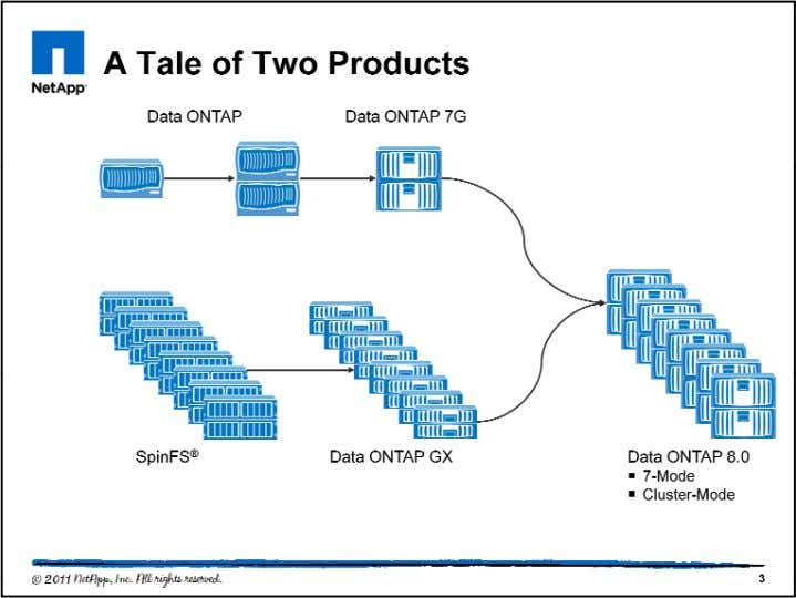 In 1992, NetApp introduced Data ONTAP and ushered in the network-attached storage industry. Since then, NetApp