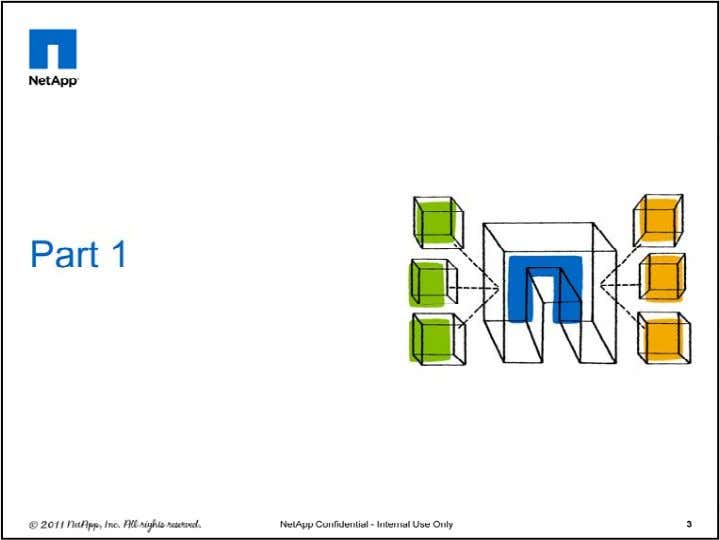 © 2011 NetApp. All rights reserved. 3