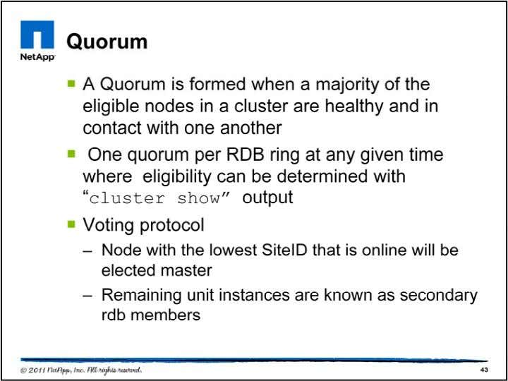 Quorum requirements are based on a straight majority calc ulation. To promote easier quorum formation given