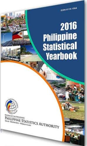The Front Cover The front cover presents the logo of the Philippine Statistics Authority (PSA). It