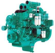 QSK23-G3 Description The QSK23 is an in-line 6 cylinder engine with a 23 litre displacement. This
