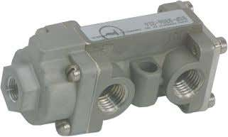 being controlled. 3/2 (Three-Way) Valve Dimensions: Inch mm Pilot Operated/Spring Return N.O. N.C. BSP-3306-316