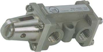 Mechanically Operated Valves 3/2 (Three-Way) Valves Can be operated by a cam or machine member from