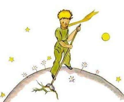 "work,"" the little prince added, ""but very easy."" And one day he said to me: ""You"