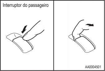 Interruptor do passageiro AA0004501