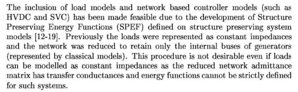 Transient Energy Functions on Structure Preserving Models 31 K.R.Padiyar I.I.Sc.